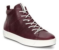 ECCO Wmns Soft 8 High TopECCO Wmns Soft 8 High Top in BORDEAUX (01070)