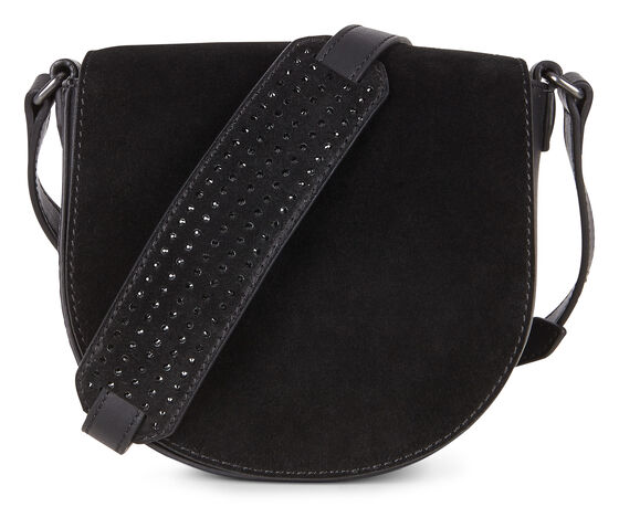 ECCO Joliet Small Saddle Bag (BLACK)