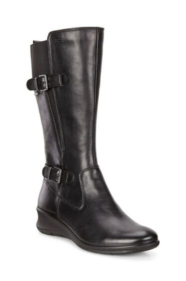 ECCO Babett Wedge GTX Boot (BLACK)