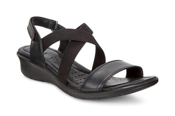 ECCO Felicia Casual Sandal (BLACK)