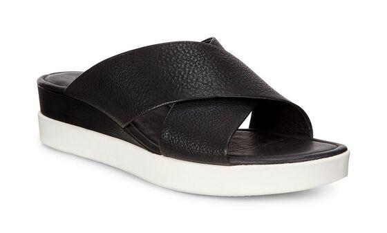 ECCO Touch Slide Sandal (BLACK)