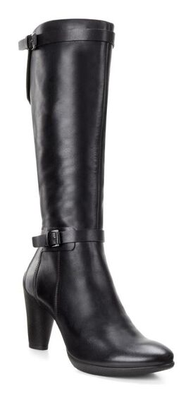ECCO Sculptured 75 Tall Boot (BLACK)