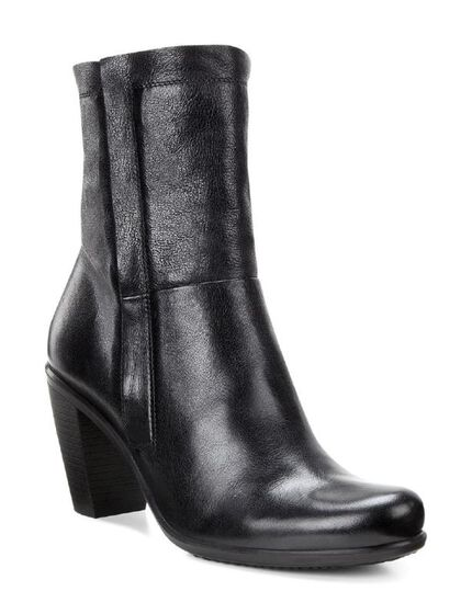 ECCO Touch 75 Zip Boot (BLACK)