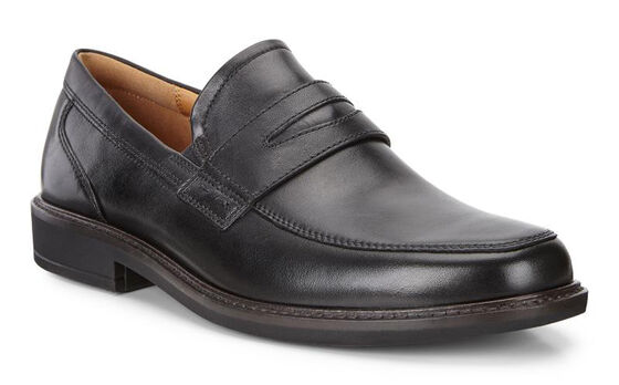 ECCO Holton Penny Loafer (BLACK)