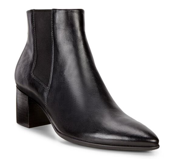 ECCO Shape 45 Pointy Boot (BLACK)