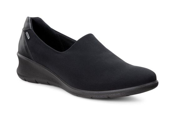 ECCO Babett 45 GTX Slip On (BLACK/BLACK)