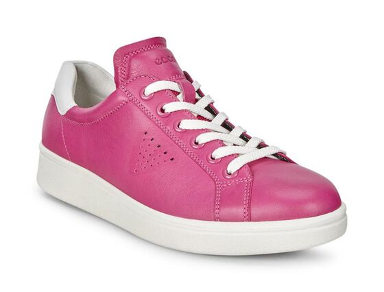ECCO Soft 4 Sneakers (BEETROOT/WHITE)