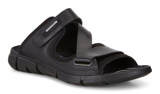 ECCO Mens Intrinsic Sandal (BLACK/BLACK)