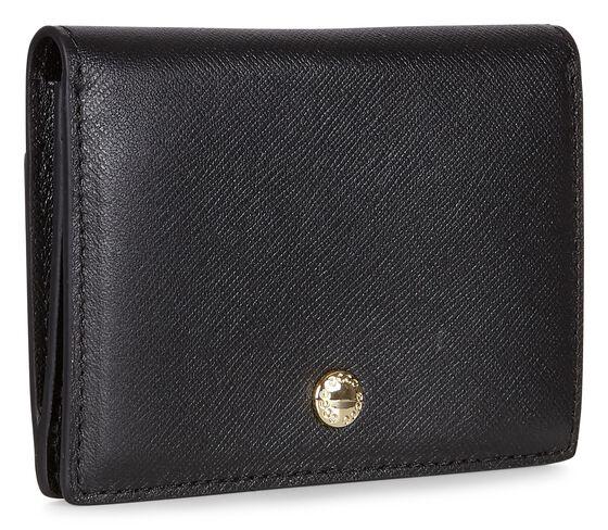ECCO Iola Card Case (BLACK)