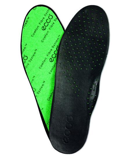 ECCO Mens CFS Leather Insole (BLACK)