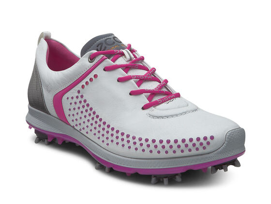 ECCO Womens Golf Biom G2 (WHITE/CANDY)