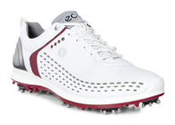 ECCO Mens Golf Biom G2 (WHITE/BRICK)