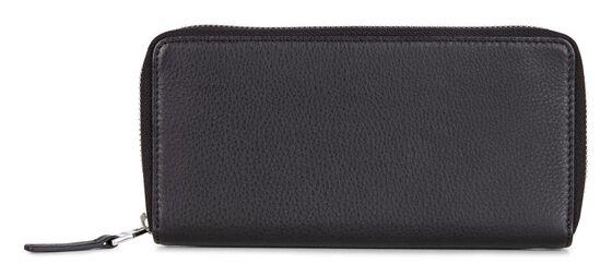ECCO Jos Large Zip Wallet (BLACK)