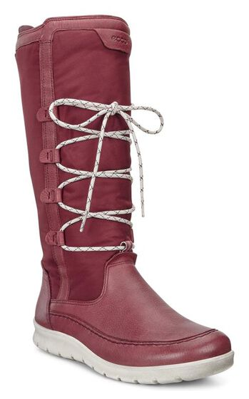 ECCO Babett Boot High Cut Lace (PORT/PORT)