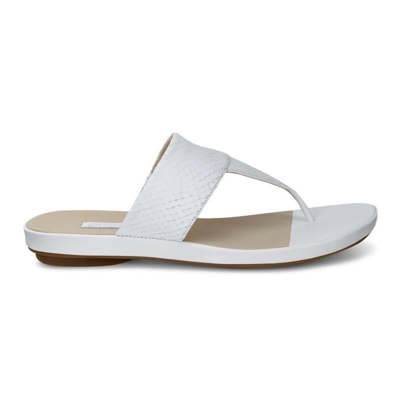... ECCO Tabora 15 Strap ThongECCO Tabora 15 Strap Thong WHITE/WHITE  (50874) ...