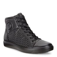 ECCO Soft 7 High Top (BLACK/BLACK)
