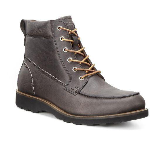ECCO Holbrok Moc Toe Boot (DARK CLAY)