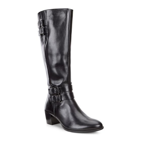 ECCO Shape 35 High Cut Zip (BLACK/BLACK)
