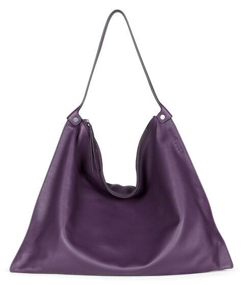 ECCO Sculptured Shoulder Bag (MAUVE/MAUVE)