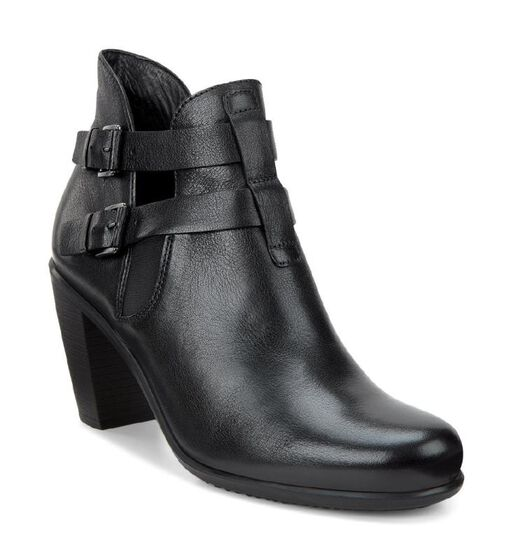 ECCO Touch 75 Double Buckle (BLACK)