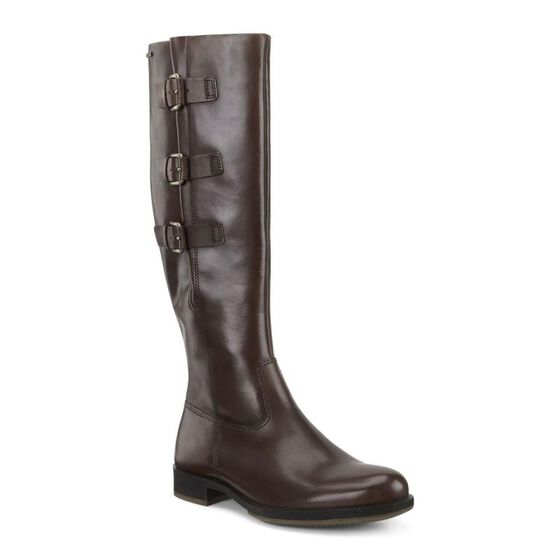 ECCO Saunter GTX Tall Boot (COCOA BROWN)