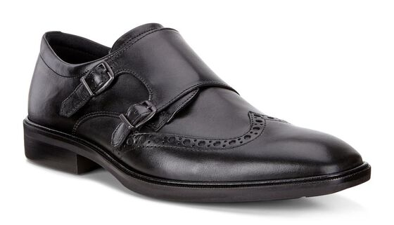 ECCO Illinois Monk Strap (BLACK)