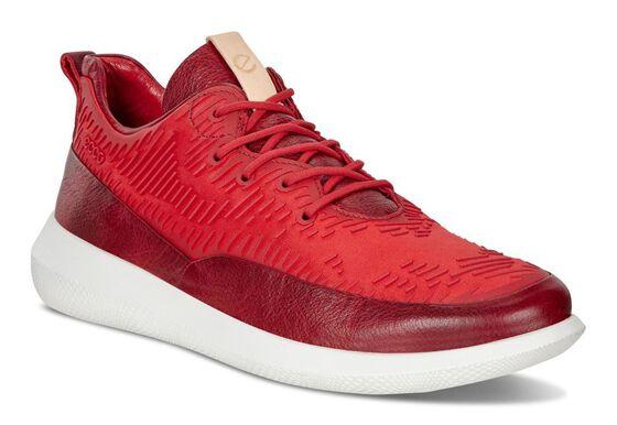 ECCO Womens Scinapse Sneaker (CHILI RED/CHILI RED)