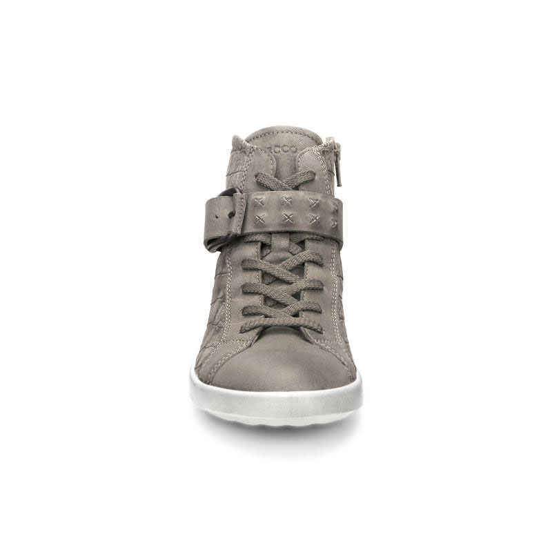 Ecco Womens Boots Aimee Sneaker Moon Rock Moon Rock