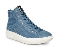 ECCO Womens Soft 3 High TopECCO Womens Soft 3 High Top RETRO BLUE/RETRO BLUE (55335)