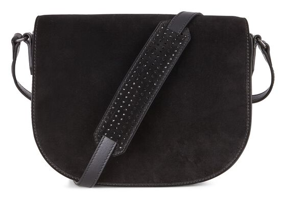 ECCO Joliet Medium Saddle BagECCO Joliet Medium Saddle Bag BLACK (90000)