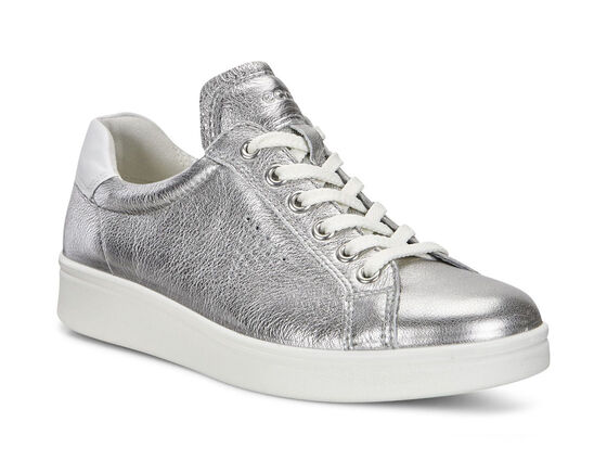 ECCO Soft 4 Sneakers (ALUSILVER/WHITE)