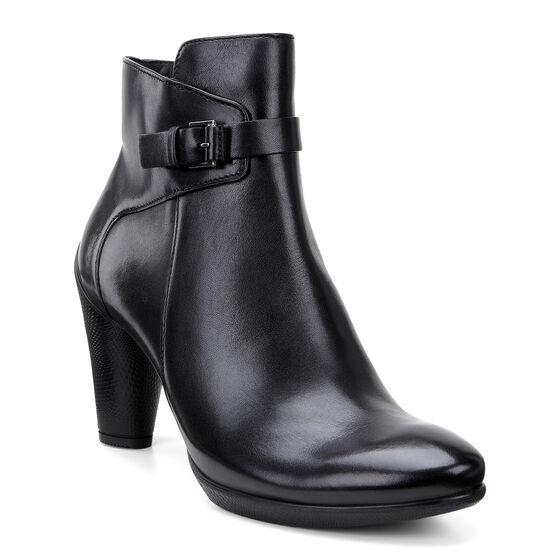 ECCO Sculptured 75 Mid Boot (BLACK)