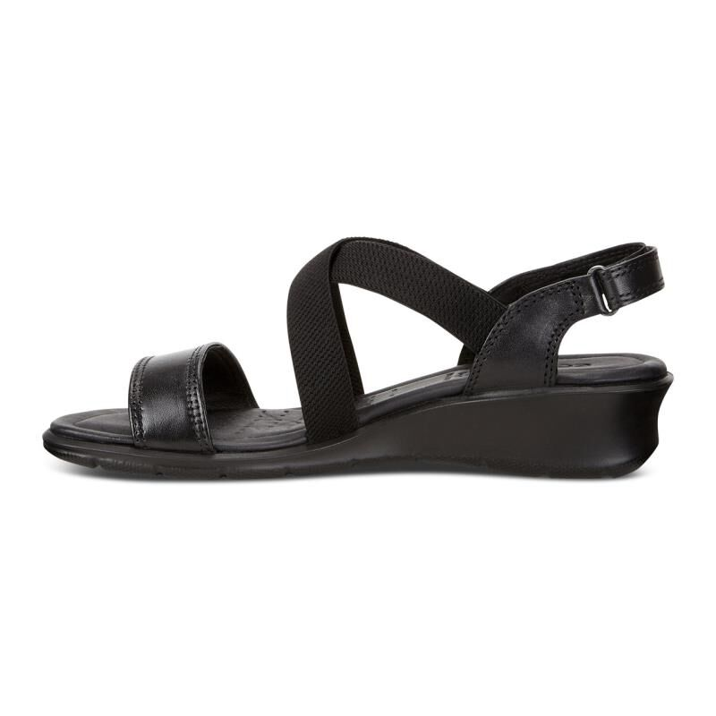 ... ECCO Felicia Casual SandalECCO Felicia Casual Sandal BLACK (01001) ...