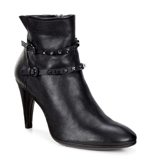 ECCO Shape 75 Sleek Boot (BLACK/BLACK)