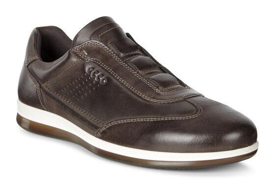 ECCO Hayden Sneaker Tie (COFFEE)