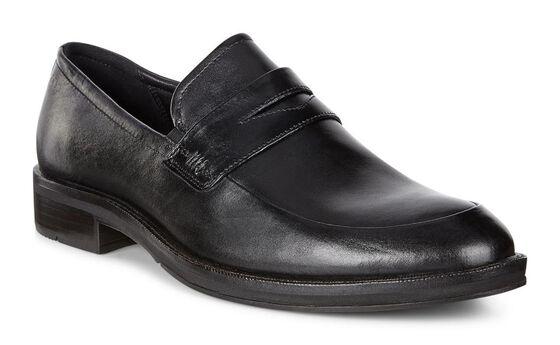 ECCO Henley Slip-on (BLACK)