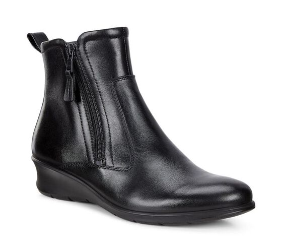 ECCO Felicia Ankle Boot (BLACK)