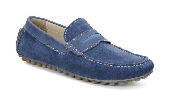 ECCO Dynamic Moc (DENIM BLUE/DENIM BLUE/BERMUDA BLUE)