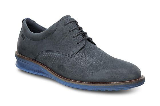 ECCO Contoured Brogue (NAVY/TRUE NAVY)