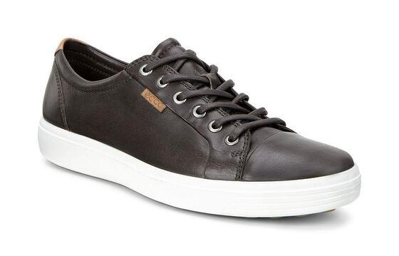 ECCO Mens Soft 7 Sneaker (MOCHA)