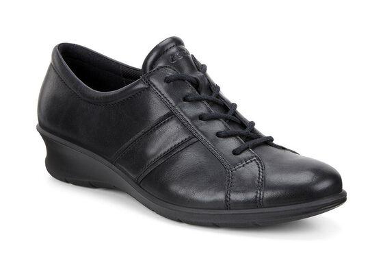 ECCO Felicia Tie (BLACK/BLACK)