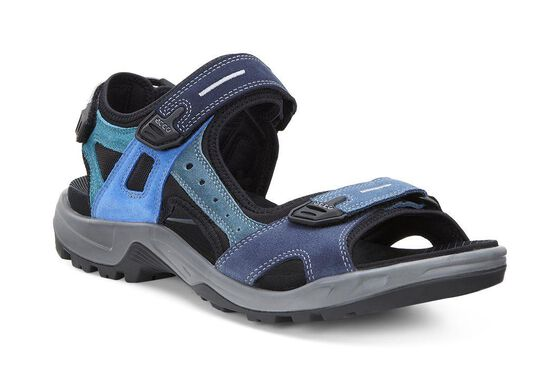 ECCO Mens Anniversary Offroad Sandals (MULTICOLOR)