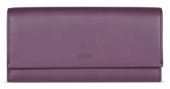 ECCO Sculptured Cont. Wallet (MAUVE)