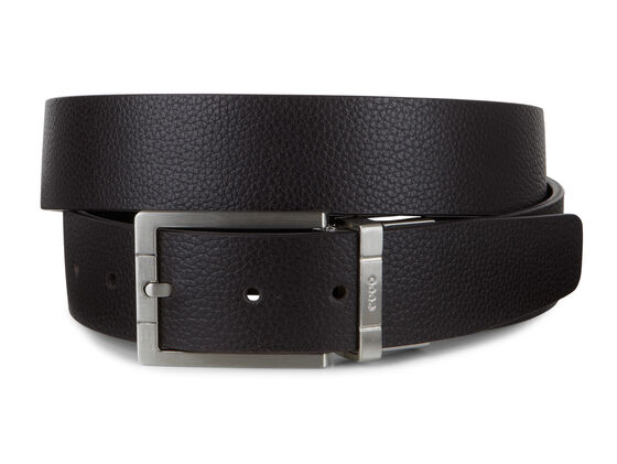 ECCO Evry Formal Mens Belt (COFFEE/BLACK)