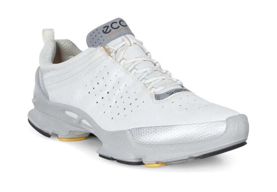 ECCO Mens BIOM C 2.1 (SILVER METALLIC/WHITE)