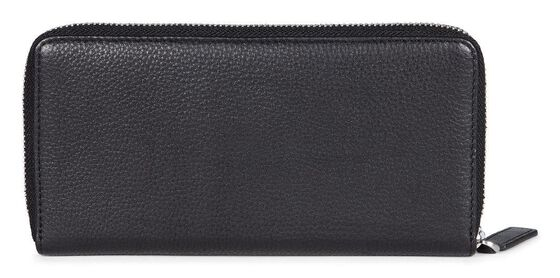 ECCO Gordon Large Zip Wallet (BLACK)