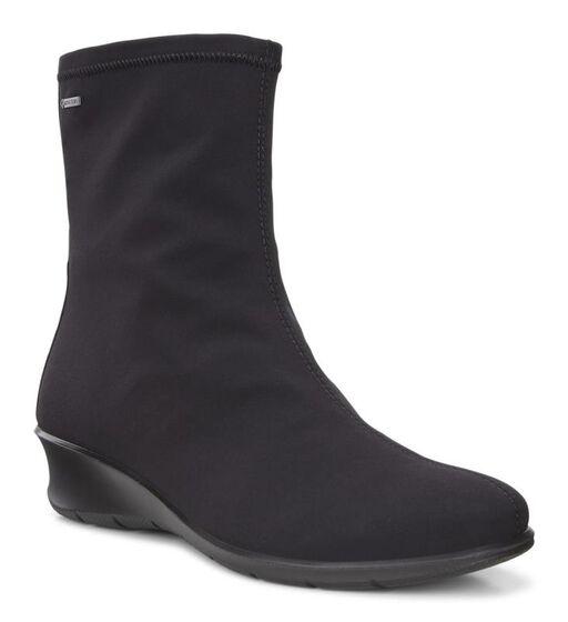 ECCO Felicia GTX Boot (BLACK/BLACK)
