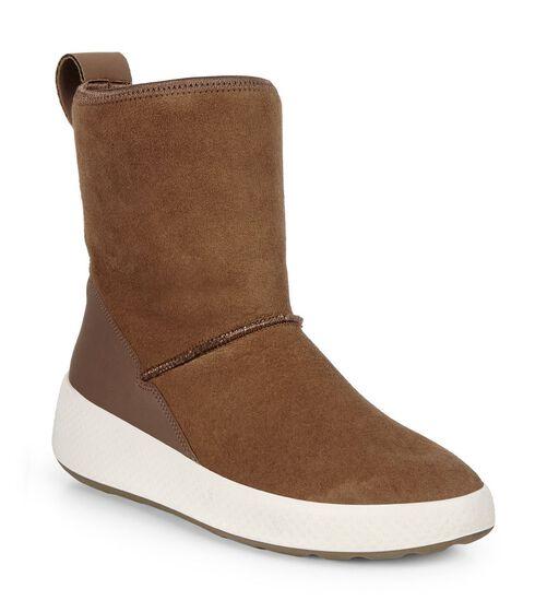 ECCO Womens Ukiuk Short Boot (COCOA BROWN/COCOA BROWN)