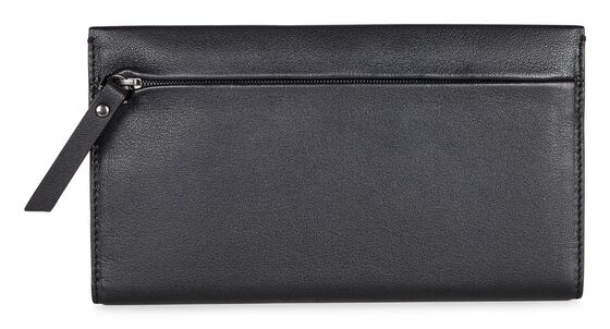 ECCO Sculptured Large Wallet (BLACK)