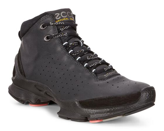 ECCO Womens BIOM C High (BLACK/BLACK)